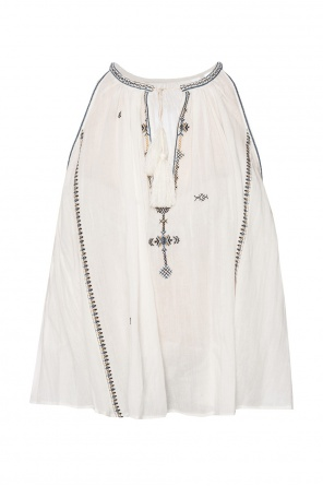 Embroidered pattern top od Isabel Marant Etoile